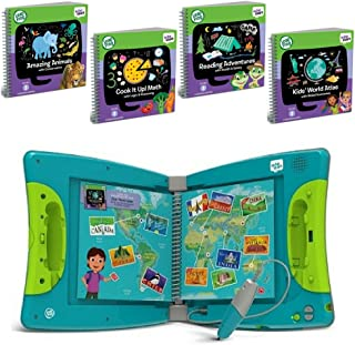 LeapFrog LeapStart Interactive Learning System Kindergarten & 1st Grade For Kids Ages 5-7, With Level 3 Kindergarten Educational Activity Books Set, Learn Basic Skills For Life, Fun Activity Bundle