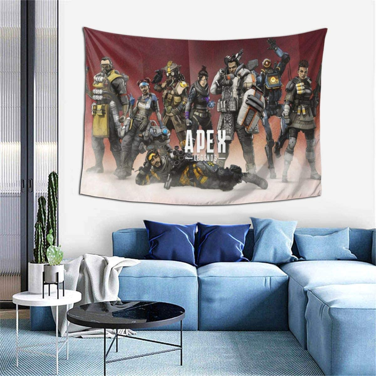 10. Apex Tapestry Art Wall Hanging