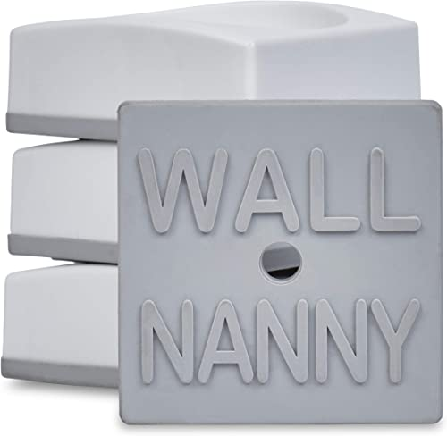 Wall Nanny Mini - Smallest Baby Gate Wall Protector (Made in USA) Protect Walls & Doorways from Pet & Dog Gates - for...