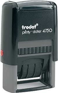 New Trodat Printy 4750 Self Inking Printy Dater Stamp