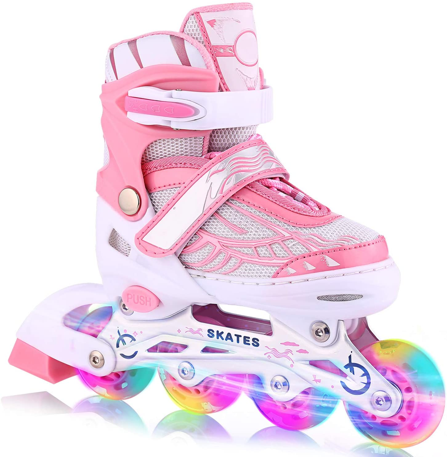 Weskate Don't miss the campaign Adjustable Inline Skates for Kids Adults Full Women and List price