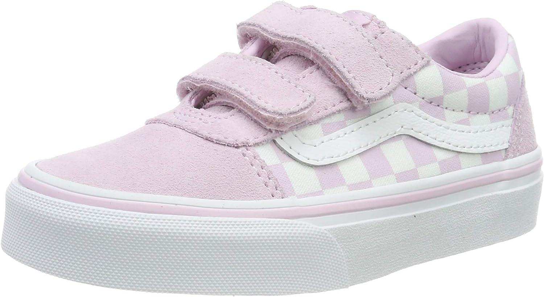 Vans Ward V-Velcro Suede, Sneaker Niñas
