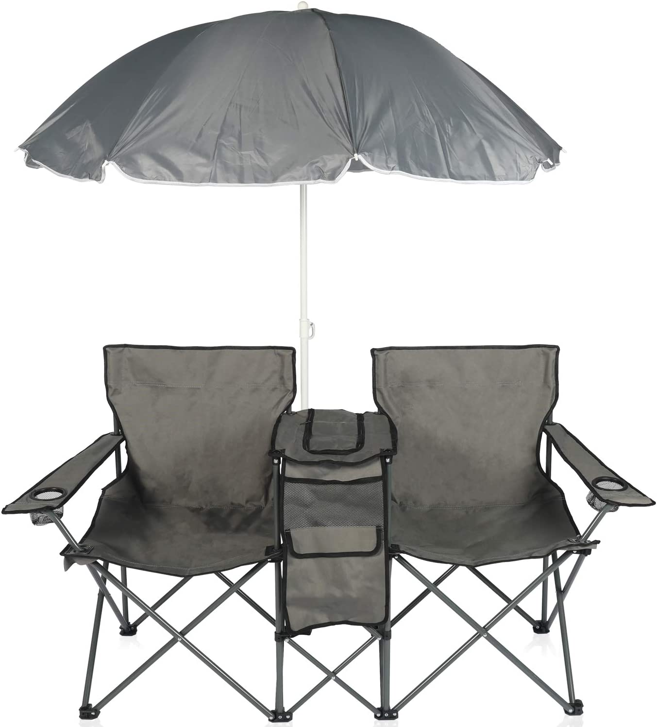 YILI Louisville-Jefferson County Mall Double Folding Camping Re Portable w Chairs Super beauty product restock quality top