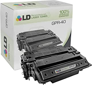 LD Remanufactured Toner Cartridge Replacement for Canon GPR-40 3482B005AA (Black)