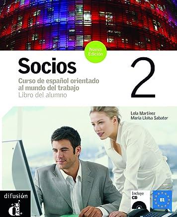 Socios. Libro del alumno. Per gli Ist. Professionali per i servizi commerciali. Con CD Audio: 2