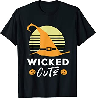 Wicked Cute Witch Hat Funny Halloween Shirt T-Shirt