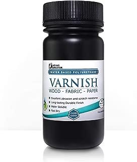 Venus Creator - Varnish - VC600 Water Based Polyurethane for Wood, Fabric, Paper. Gloss and Self-Healing