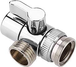 Kran avledare handfat vattenkran omkopplingsventil mässing avstängningsventil för badrum kök tvättfat