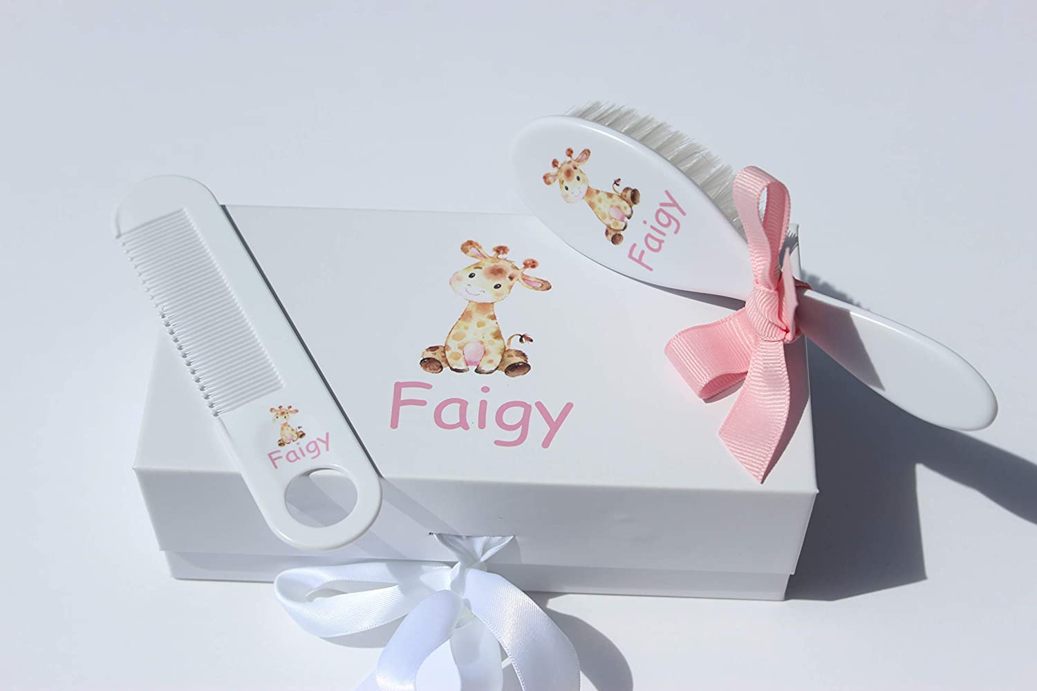 Personalized Challenge the lowest price Baby Gift - Brush and Milwaukee Mall for A Set Comb Suitable