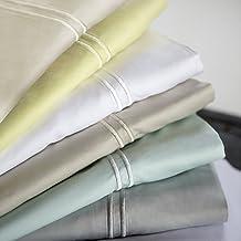 MALOUF Woven 100% Rayon from Bamboo Pillowcase Set-2-pc Set-Queen-Ash