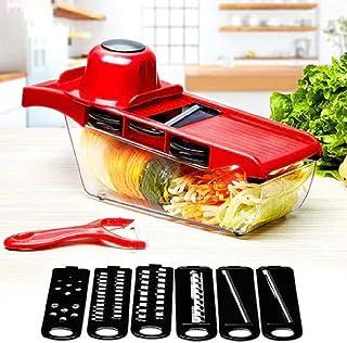 OMG -10Pc Manual Vegetable Cutter Steel Blade Slicer Potato Peeler Carrot Cheese Grater Vegetable Slicer Kitchen Accessories