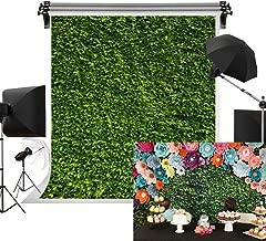 Kate 5x7ft/1.5m(W) x2.2m(H) Wedding Backdrop Green Grass Backdrop Bridal Shower Backdrop Lawn Party Background Props