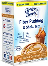 Better Bowls Sugar-Free Instant Pudding, Salted Caramel (1.8 ounce, pack of 6 )