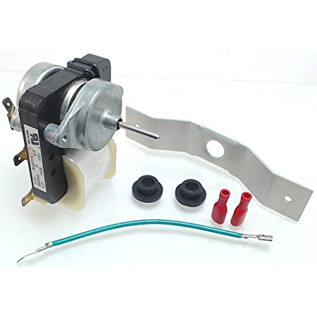 Compatible with WPW10189703 Refrigerator Evaporator Fan Motor 2-Pack W10189703 Evaporator Fan Motor Replacement for Kenmore//Sears 106.72132101 Refrigerator