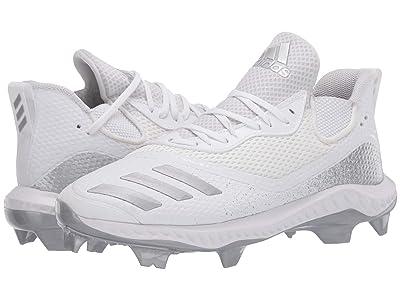 adidas Icon V Bounce TPU (Footwear White/Silver Metallic/Footwear White) Men