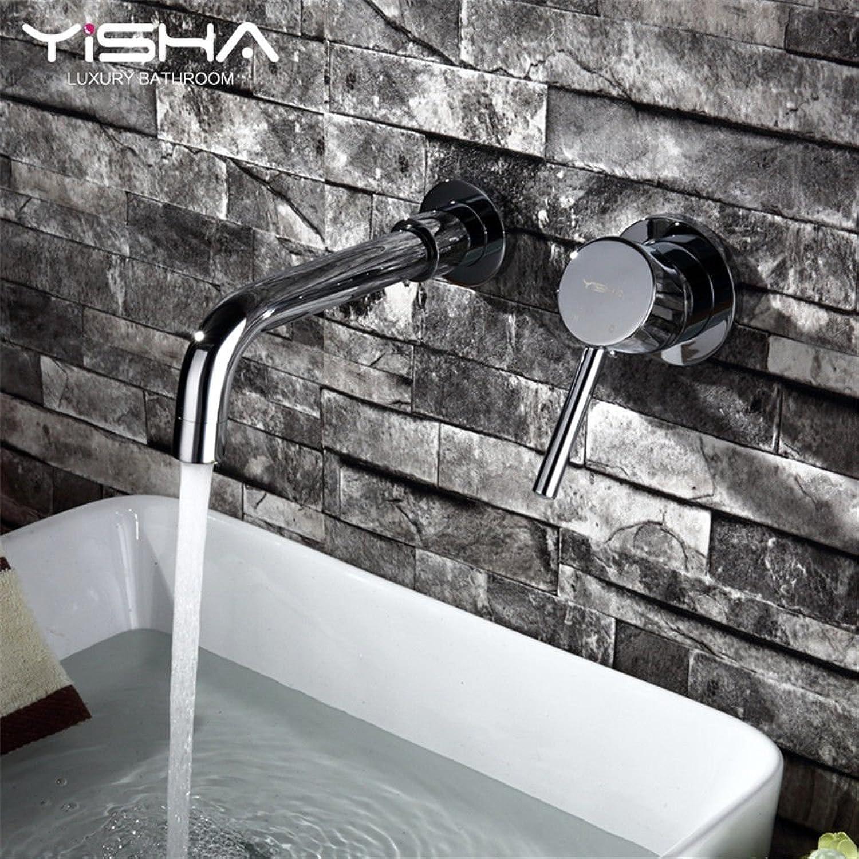 Einfache kalte und warme kalte küche waschbecken wasserhhne küchenarmaturKupfer warm und kalt wandmontierte Grünckte waschbecken Waschbecken über dem Waschbecken Geeignet für alle badezimmerspülen