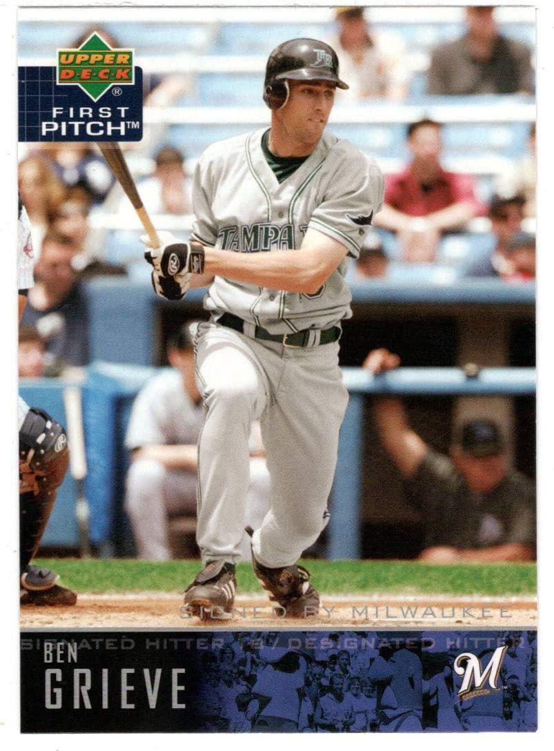 Max 44% OFF Ben Grieve Baseball Card 2004 Upper First Man # 55 Pitch NM shopping MT
