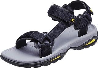 CAMEL CROWN صنادل رياضية للرجال والنساء مفتوحة إصبع القدم حزام صندل الصيف الشاطئ أحذية المياه في الهواء الطلق