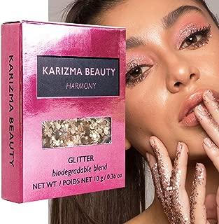 Harmony Biodegradable Chunky Glitter // Karizma Beauty Baby Pink Bio Glitter Eco Glitter Face Glitter Festival Chunky 10g