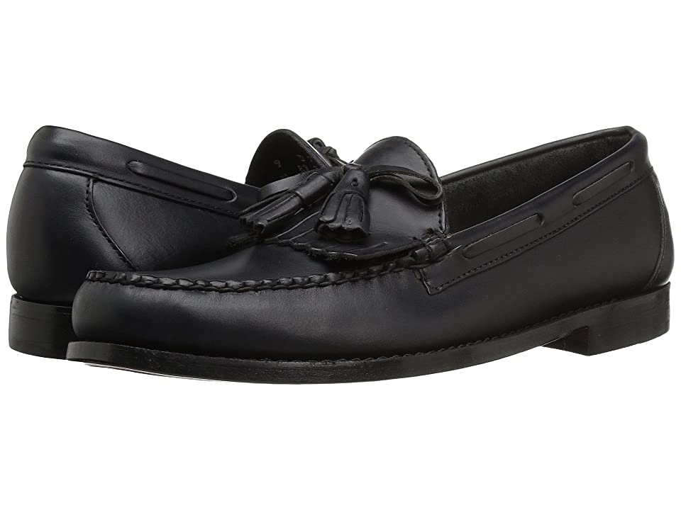 G.H. Bass & Co. Lawrence Kiltie Weejuns (Black Pull-Up) Men