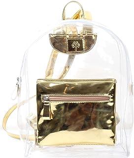 Metallic Mini Backpack Gold