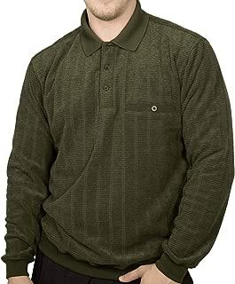 Safe Harbor Allover Long Sleeve Banded Bottom Shirt 6198-213 Big and Tall Hunter