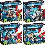 Playmobil 9385 9386 9387 9388 Venkman Spengler Zeddemore Stantz Ghostbusters …