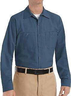 Sponsored Ad - Red Kap Men's Industrial Long Sleeve Work Shirt