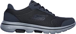 Skechers mens Gowalk 5 Qualify - Athletic Mesh Lace Up Performance Walking Shoe Sneaker