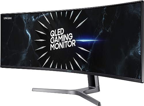 2021 SAMSUNG LC49RG90SSNXZA 49-Inch CRG9 Curved discount Gaming high quality Monitor, Black, QHD, 120Hz sale