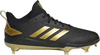 black and gold baseball cleats