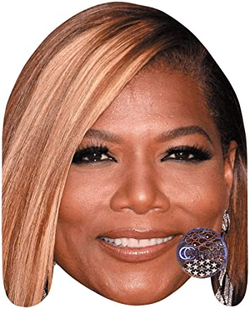 Queen Latifah (Smile) Celebrity Mask, Card Face and Fancy Dress Mask