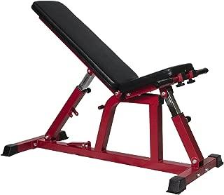 MRG インクラインベンチ フラットベンチ デクラインベンチ シットアップベンチ ドラゴンフラッグ専用バー付き ダンベル トレーニング 筋トレ 腹筋 ベンチ 1年保証付