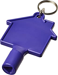 Bullet Maximilian House-shaped Meterbox Key With Keychain