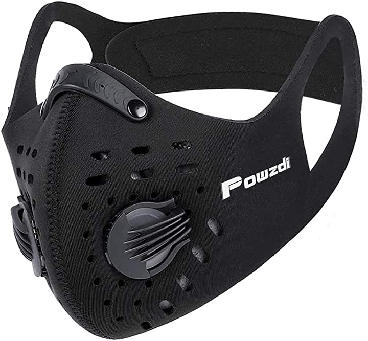 mascherina in carbonio - powzdi protezione sportiva sm09
