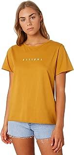 Thrills Women's Minimal Loose Fit Tee Short Sleeve Yellow