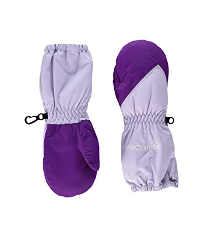 Columbia Kids Chippewatm Long Mitten (Toddler) (Pale Lilac/Plum) Extreme Cold Weather Gloves