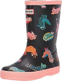 Hunter Kids Boy's First Classic Sea Monster Print Boots (Toddler/Little Kid)