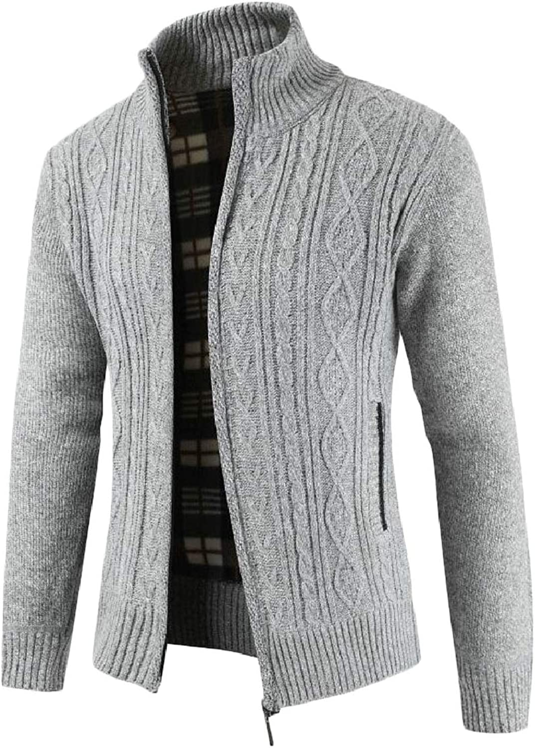 Clothing & Accessories pujingge CA Mens Stand Collar Warm