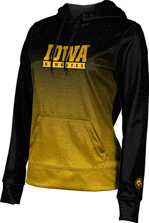 ProSphere University of Iowa Girls' Pullover Hoodie, School Spirit Sweatshirt (Gradient)