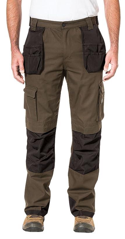 Caterpillar Men's Cargo Pant Holster Pockets (Dark Earth/Dark Earth, 36 x 40)