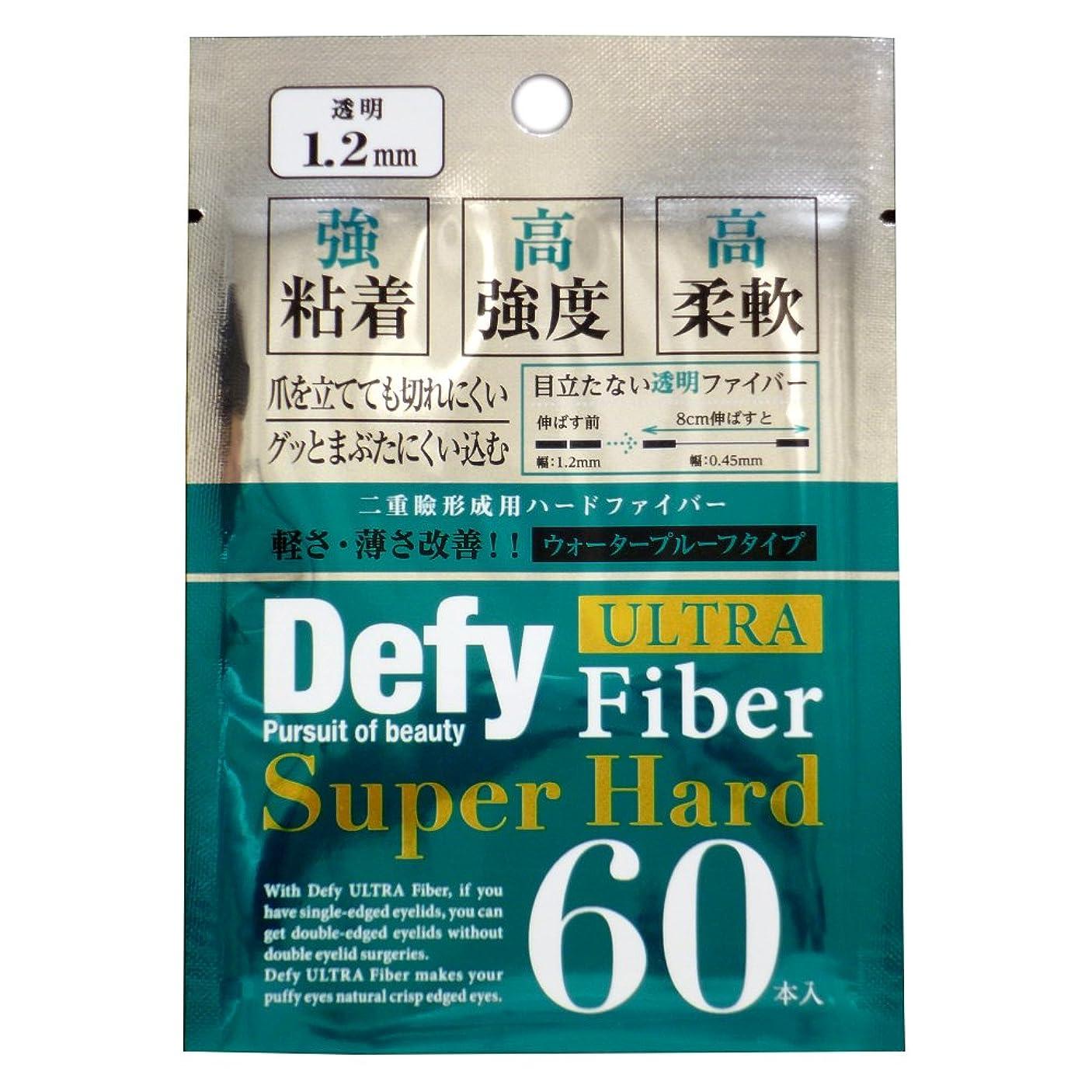 賛美歌意志トチの実の木Defy ウルトラファイバーII スーパーハード クリア 1.2mm