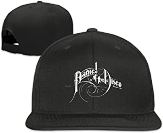 Nobee Unisex Panic At The Disco Snapback Adjustable Flat Baseball Hat/Cap