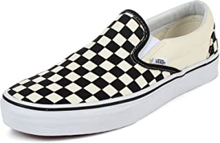 ac1c318054 Vans - Unisex Adult Classic Slip-On Shoes in Black White Checkered