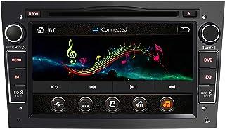 AWESAFE Radio Coche 7 Pulgadas con Pantalla Táctil 2 DIN para Opel Opel Autoradio con Bluetooth/GPS/FM/RDS/CD DVD/USB/SD Apoyo Mandos Volante Mirrorlink y Aparcacimiento (Negra)