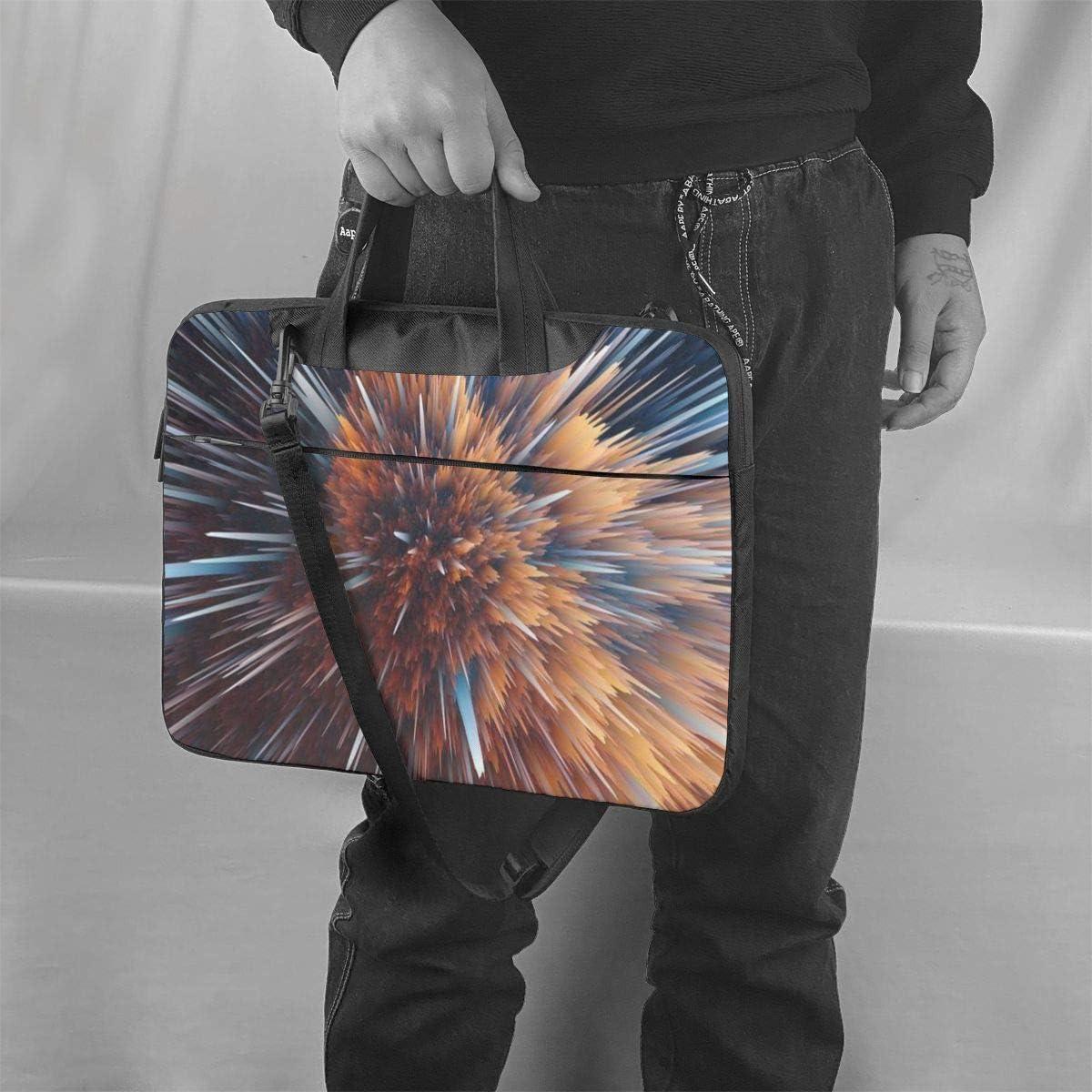 Teesofun Laptop Bag Handheld Business Briefcase Protective Bag for 13 Inch MacBook Air//Pro Abstract Peacock Seamless Art Waterproof Laptop Shoulder Messenger Bag