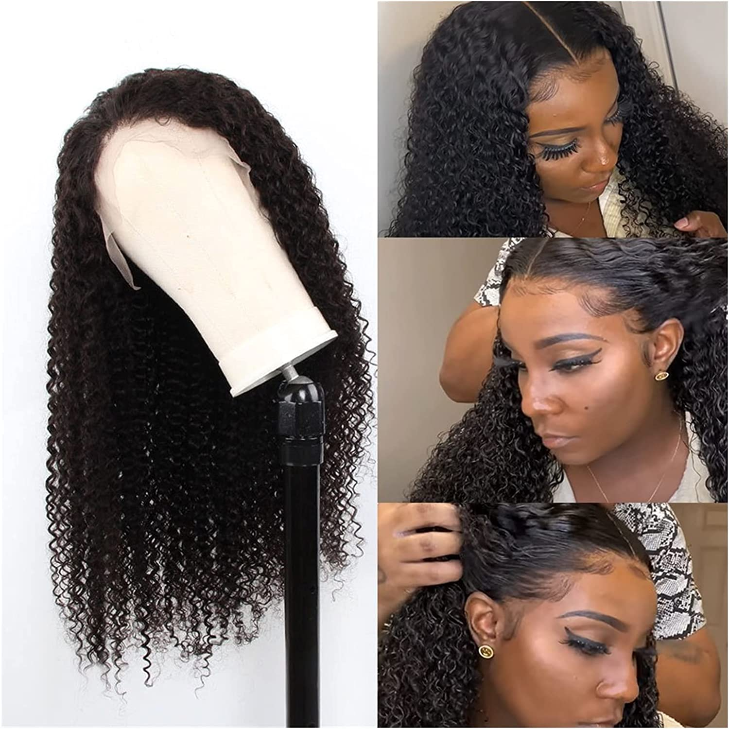 Wig Curly Wigs Sales of SALE items from new works for Women Lace Human Hair Year-end gift Closure