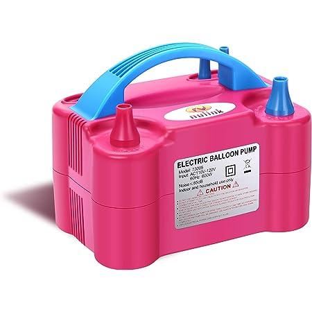 Bater/ías CA 220V // DC 12V Ideal para inflado r/ápido de Camas de Aire neum/áticos Bomba de inflado el/éctrica con bater/ía Inflado//Desinflado Dr.meter Inflador Electrico flotadores de Piscina