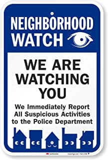 crime watch signs free