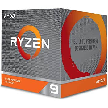 AMD Ryzen 9 3900X with Wraith Prism cooler 3.8GHz 12コア / 24スレッド 70MB 105W 100-100000023BOX 三年保証 [並行輸入品]